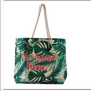 Ulta Beauty Bags - ISLAND TIME LEAF TOTE